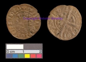 Edward 1 (1272-1307) silver coin