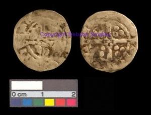 Edward III (1327-1377) silver coin