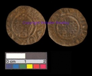 Richard I (1189-1199) copper-alloy coin