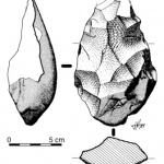 stone tool illustration