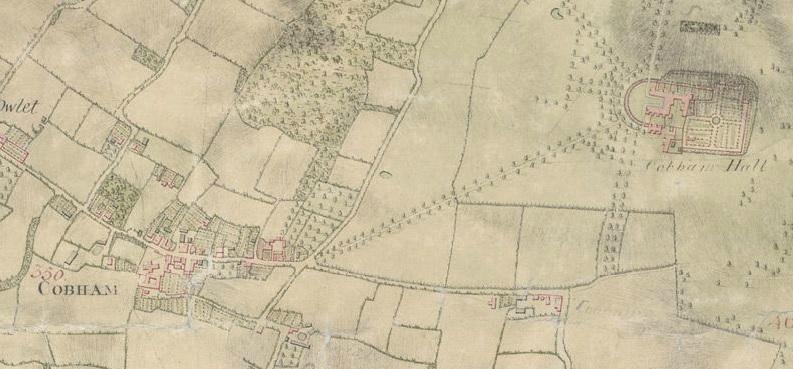 Cobham map 1797